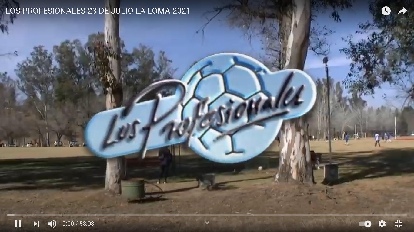 LOS PROFESIONALES 23 DE JULIO